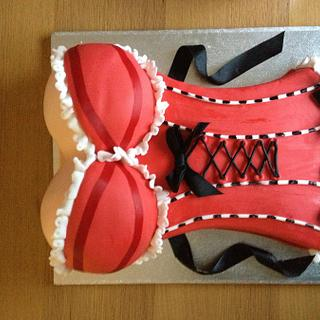 The cancan - Cake by Bubba's cakes