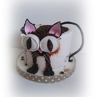 Coffee cat :)