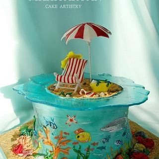 Red Sea Holidays - Cake by Art Cakes Prague