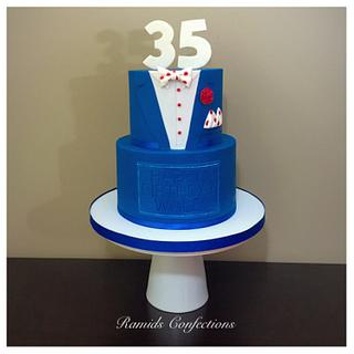 Just Another Suit Cake