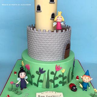 Ben and holly - Cake by Mariana Frascella