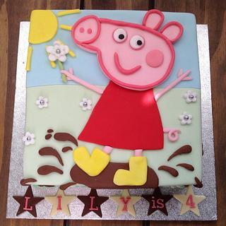 Peppa Pig birthday cake - Cake by Mrs BonBon