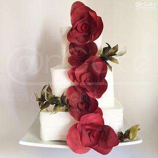 red carpet  - Cake by maria antonietta motta - arcake -