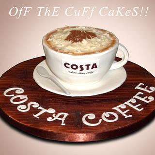 Costa Coffee Cake!  - Cake by OfF ThE CuFf CaKeS!!