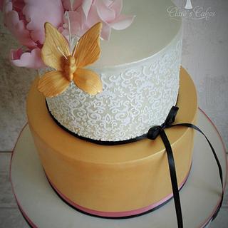 gold cake :)