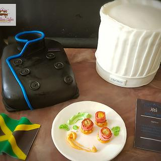 Chef's Platter - Cake by sCrumbtious Kakes