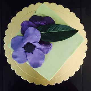Green tea cake  - Cake by Drcyn