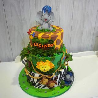 safari cake - Cake by Maria Ferreira