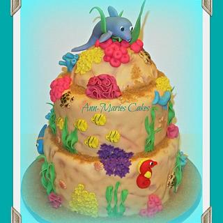 JUD'S UNDER THE SEA CAKE - Cake by Ann-Marie Youngblood