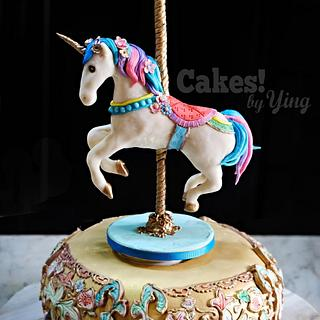 Carousel Unicorn Music Box