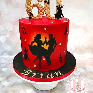 Dancers - Cake by Sweet Surprizes