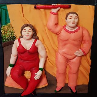 Botero challenge  - 'El Circo'