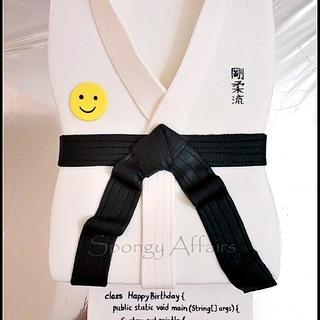Black Belt & Java! - Cake by Meenakshi Jamadagni