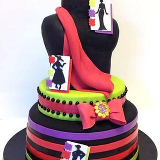 French Fashion Cake - Cake by BumbleBake
