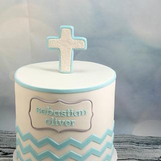 Christening cake for Sebastian