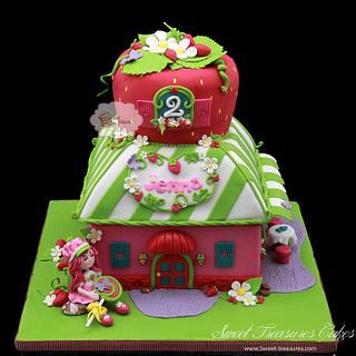 Strawberry Shortcake - Cake by Sweet Treasures (Ann)