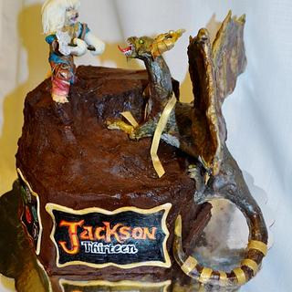 Magic: The Gathering Cake