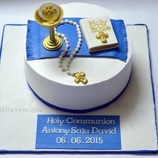 Holy communion whipped crea