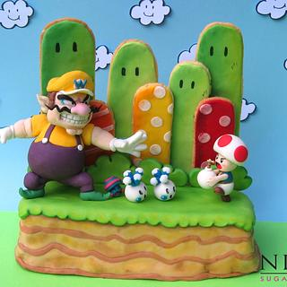 Wario's Woods -Arcade Games Collaboration