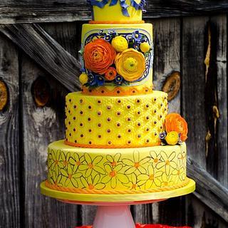 Cake Central Ranunculus Cake