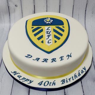 Leeds United Cake - Cake by Extra Mile Icing