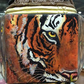 My favorite Cocoa Butter Painted Tiger