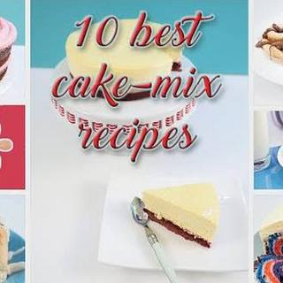 10 best recipes using cake mix!