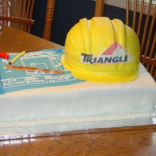 Construction Cake - Cake by Sara's Cake House