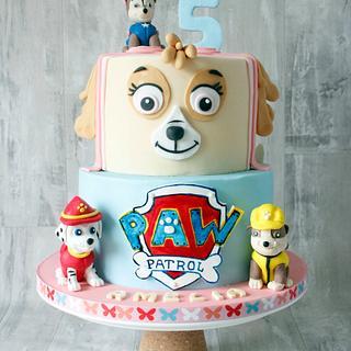 Paw Patrol cake - Cake by Kalina