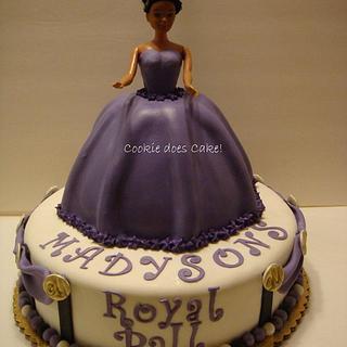 Royal ball - Cake by cookiedoescake