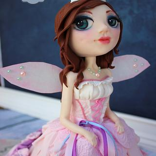 Yasmine's Fairy Godmother  - Cake by Joly Diaz