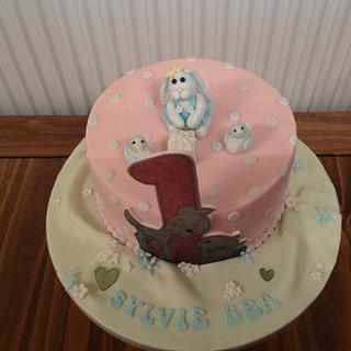 1st birthday cake - Cake by Mrs BonBon