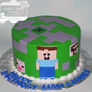 Minecraft - Cake by Sugar Sweet Cakes