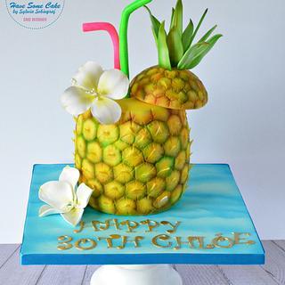 Summer birthday cake !!! - Cake by Sylwia Sobiegraj The Cake Designer