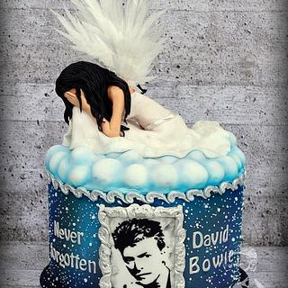 Crying Angel. Tribute to David Bowie