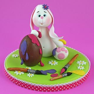 Pimmetje the Easterbunny