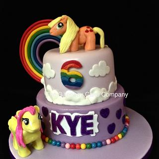 My Little Pony inspired cake