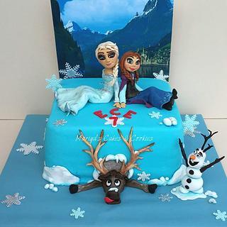 FROZEN cake - Cake by Mariya's Cakes & Art