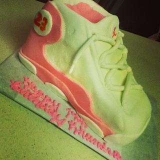 Air Jordan Birthday Cake