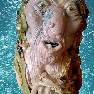 Gwen the Sea Hag - Cake by Yve mcClean