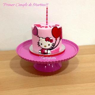 Hello Kitty cake Martina - Cake by Ana