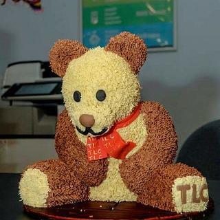 Tlc teddy bear cake - Cake by joe duff