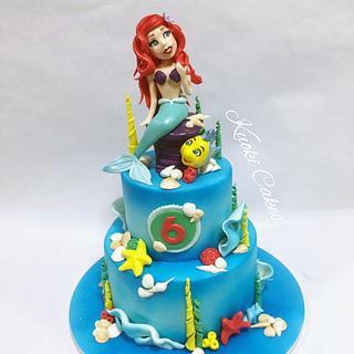 Sirenetta Birthday cake