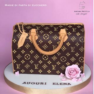 Louis vuitton cake bag - Cake by Mariana Frascella