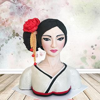 Geisha - Cake by Julie Manundo