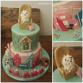 The Secret Life of Pets Cake - Cake by Unique Cake's Boutique