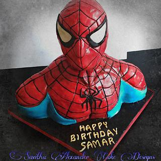 The amazing spiderman - Cake by Savitha Alexander