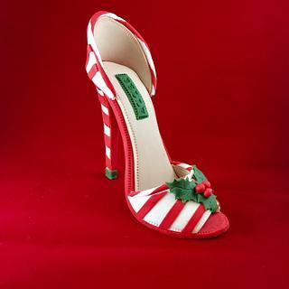 Christmas High Heel Shoe-Belle