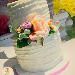 Rustic Cake 🌸