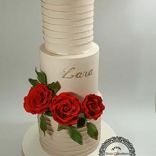 Red roses for Lara